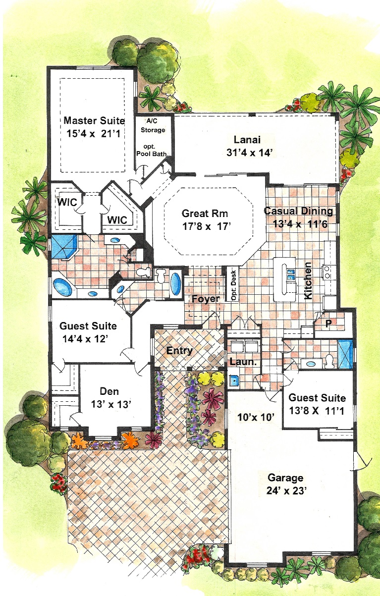 HH Medjool Floorplan Rendering