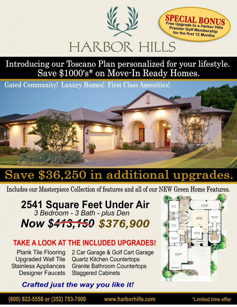 Toscano Inventory Home sale