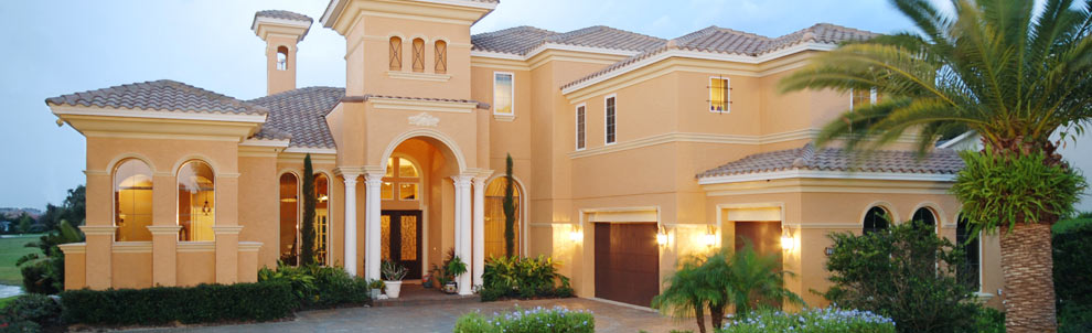 Luxury homes central florida golf community harbor hills for Designer homes of central florida